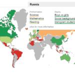 Интерактивная карта результатов международного исследования PISA